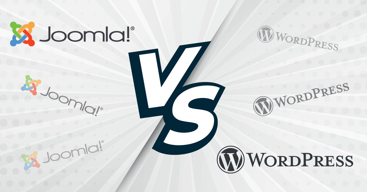 Joomla VS Wordpress le match